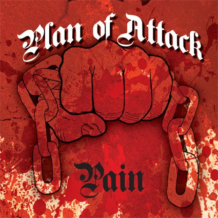 "Plan Of Attack - Pain 7"" (bone)"