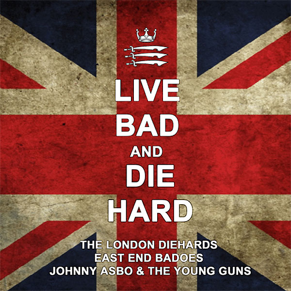 "Live Bad And Die Hard - split 12""LP"
