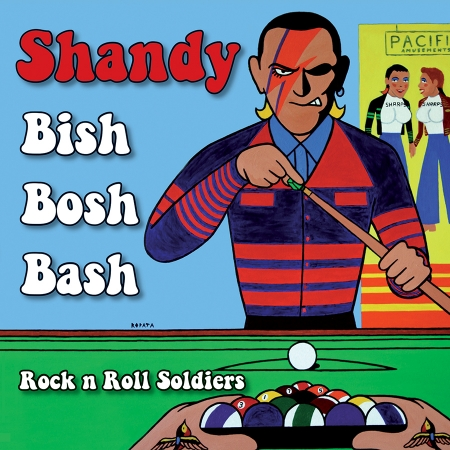 "Shandy - Bish Bosh Bash / Rock N Roll Soldiers 7""EP (Green)"