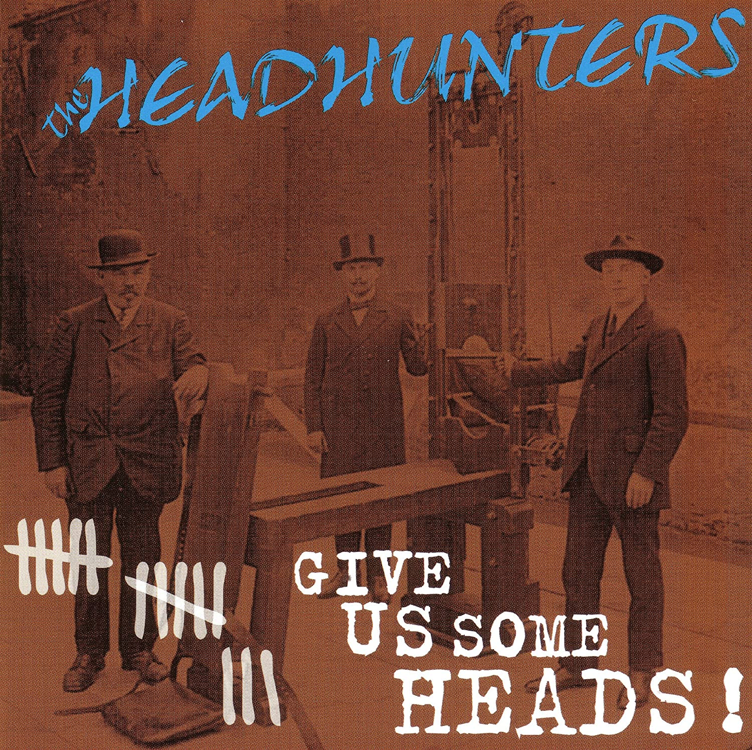 Headhunters The - Give us some heads CD