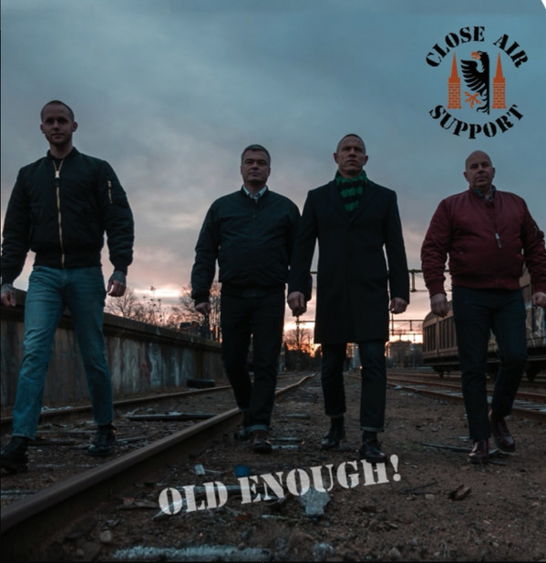 "Close Air Support ‎– Old Enough! 7""EP (černý)"