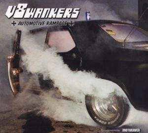 "V8Wankers - Automotive Rampage 12""LP (NM/VG+)"