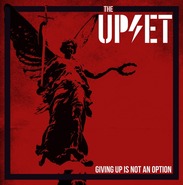 "The Upset � Giving Up Is Not An Option 12""LP (Red)"