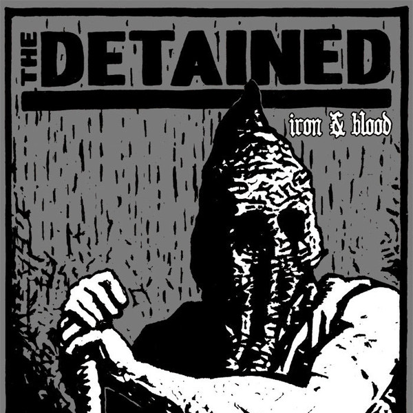 "The Detained – Iron & Blood 7""EP (grey with black splatter)"