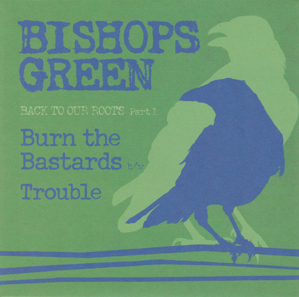 "Bishops Green ‎– Back To Our Roots Part 1 7""EP (Green Tran"