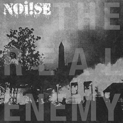 "Noi!se – The Real Enemy 12"" LP (silver)"
