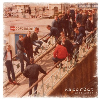Razorcut - Rise again LP (bone colored vinyl)