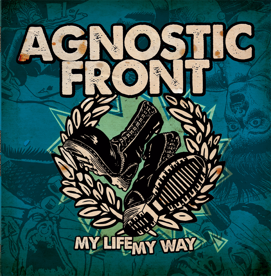 "Agnostic Front - My life, my way 12"" Gatefold LP(RP - beer col.)"